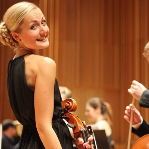 Johanna m sin cello