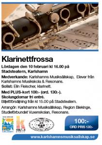 klarinettfrossa